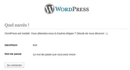 Tutoriel #6 : installer WordPress en local