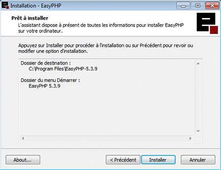 EASYPHP TÉLÉCHARGER 5.3.9 GRATUITEMENT GRATUITEMENT